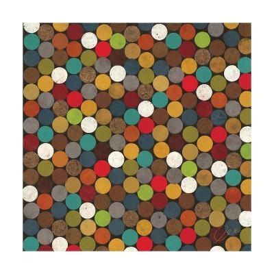 Dot Obsession II-Jeni Lee-Premium Giclee Print