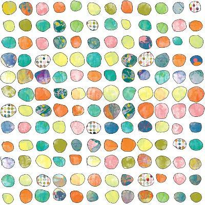 Dot world One-Jan Weiss-Art Print