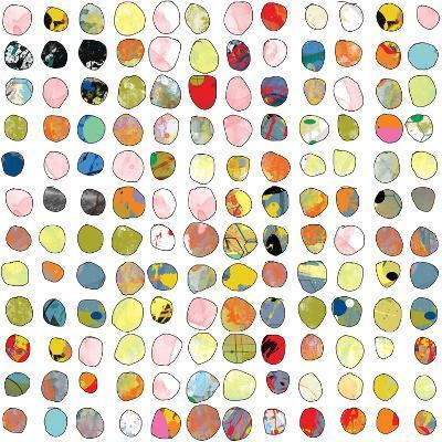 Dot world Two-Jan Weiss-Art Print