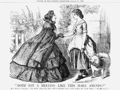 Doth Not a Meeting Like This Make Amends?, 1861--Giclee Print