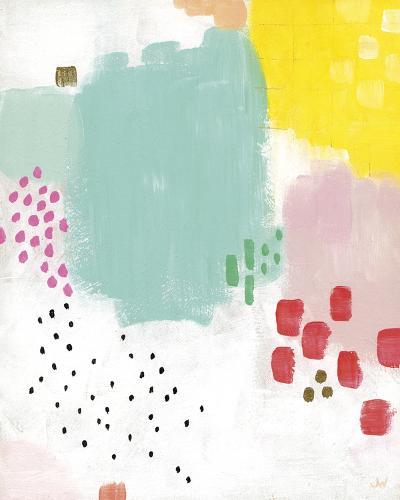 Dots and Colours - Mottle-Joelle Wehkamp-Art Print