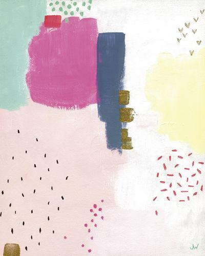 Dots and Colours - Speckle-Joelle Wehkamp-Art Print