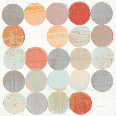 Dots II Square I-Michael Mullan-Art Print