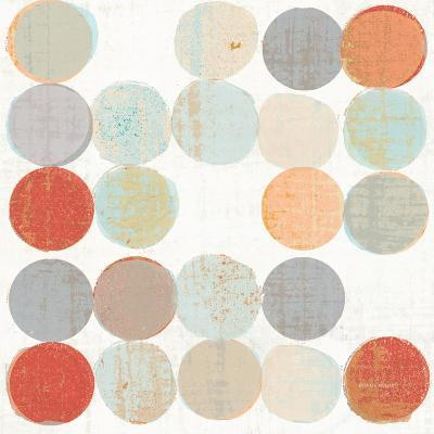 Dots II Square II-Michael Mullan-Art Print