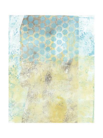 Dots on Blue II-Naomi McCavitt-Art Print