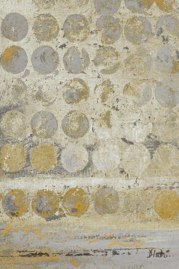 Dots on Gold I-Patricia Pinto-Premium Giclee Print
