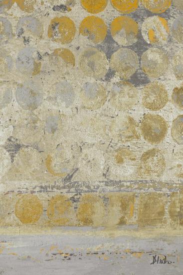 Dots on Gold II-Patricia Pinto-Premium Giclee Print