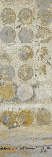 Dots on Gold Panel I-Patricia Pinto-Art Print