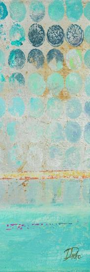 Dots on Silver Panel II-Patricia Pinto-Premium Giclee Print