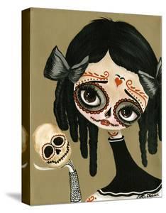 Skull In Hand by Dottie Gleason