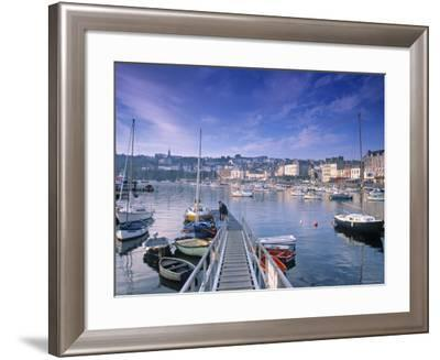 Douarnenez, Finistere Region, Brittany, France-Doug Pearson-Framed Photographic Print