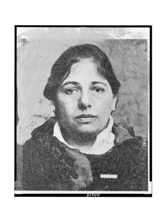 Double Agent Margaretha Geertruida Zelle, Mata Hari, the Evening before Her Execution in Vincennes