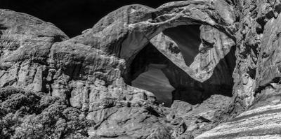 Double Arch at Arches National Park, Moab, Utah, USA