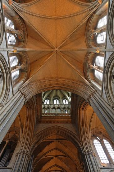 Double Barrel Vault of the Neo-Gothic Truro Cathedral (19th Century)--Photographic Print