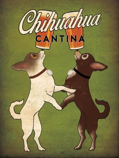 Double Chihuahua v2-Ryan Fowler-Art Print