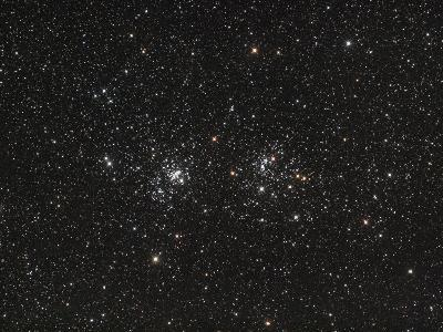 Double Cluster in Perseus (NGC 869 and NGC 884)--Photographic Print