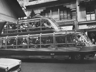 Double Decker Tourist Bus-Mark Kauffman-Photographic Print
