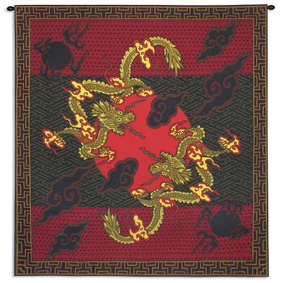 Double Dragon--Wall Tapestry