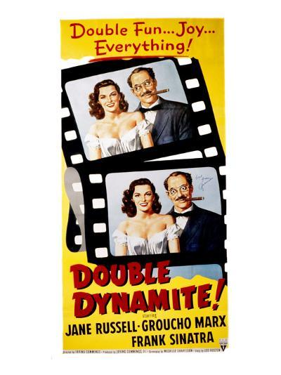 Double Dynamite, Jane Russell, Groucho Marx, 1951--Photo