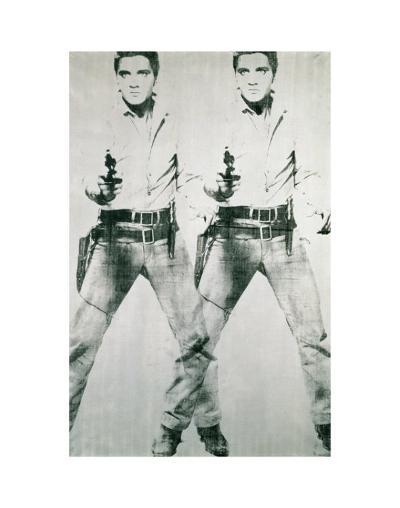 Double Elvis, c.1963-Andy Warhol-Art Print