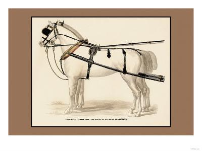 Double English Long-Tug Coach,Sport,Competition,Sports,Play,Win,Score Harness--Art Print