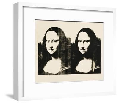 Double Mona Lisa, 1963-Andy Warhol-Framed Art Print