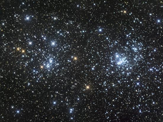 Double Star Clusters Ngc 884 and Ngc869-Robert Gendler-Photographic Print