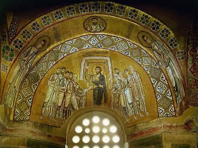 Doubting Thomas, Mosaic in the Narthex, 11th CE--Giclee Print