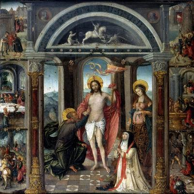 Doubting Thomas Putting His Hand into Christ's Wounds--Giclee Print