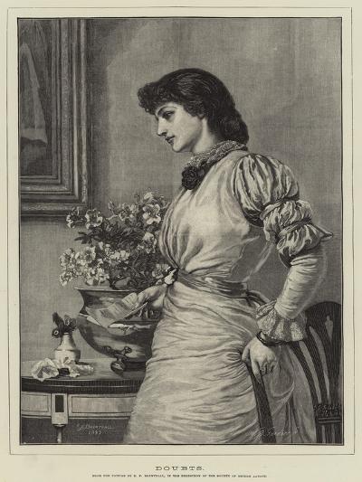 Doubts-Edward Frederick Brewtnall-Giclee Print