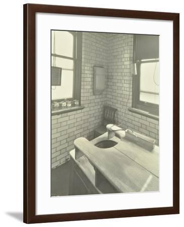 Douche Table, Thavies Inn Hospital, London, 1930--Framed Photographic Print