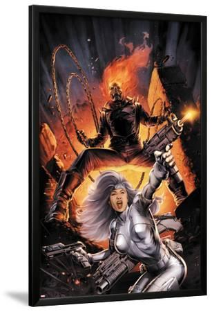 Heroes For Hire No.2 Cover: Silver Sable and Ghost Rider