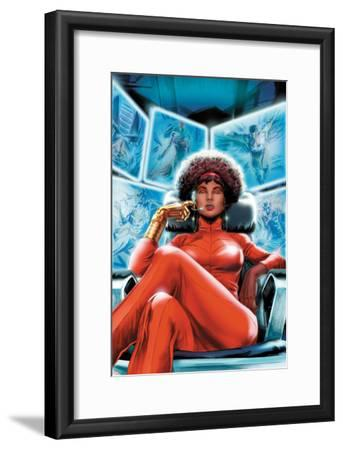 Heroes for Hire No.4 Cover: Misty Knight Sitting