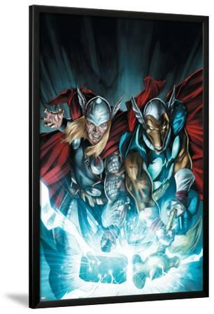 Secret Invasion: Thor No.3 Cover: Thor and Beta-Ray Bill