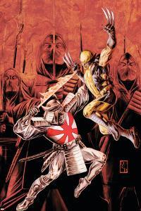 Wolverine Origins No.43 Cover: Wolverine and Silver Samurai by Doug Braithwaite