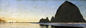 Cannon Beach Stroll by Doug Landreth