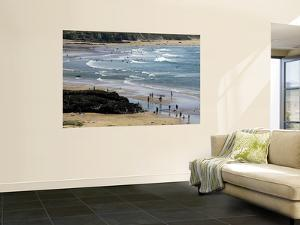 Beach at Gwithian Sands by Doug McKinlay