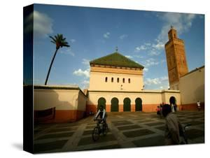 Courtyard of Sidi Bel Abbes Mosque, Marrakesh, Morocco by Doug McKinlay
