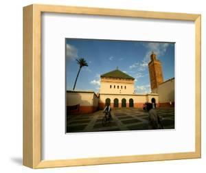 Courtyard of Sidi Bel Abbes Mosque, Marrakesh, Morocco by Doug McKinlay
