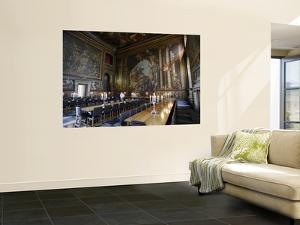 Interior of the Painted Hall at the Old Royal Naval College, Greenwich by Doug McKinlay