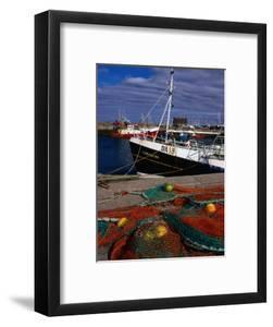 Nets on Howth Harbour, Dublin, County Dublin, Ireland, Leinster by Doug McKinlay