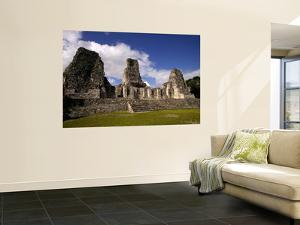 Ruins at Mayan Archaeological Site by Doug McKinlay