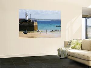 St. Ives Harbour in Summer by Doug McKinlay
