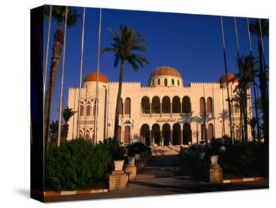 The Former Palace of the Late King Idris Now Known as the People's Palace, Tripoli, Libya