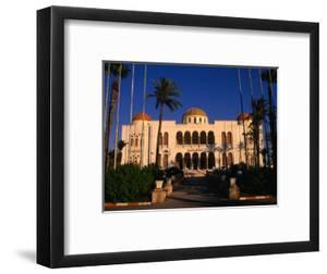 The Former Palace of the Late King Idris Now Known as the People's Palace, Tripoli, Libya by Doug McKinlay