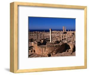 The Forum of Sabratha, an Nuqat Al Khams, Libya by Doug McKinlay