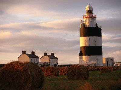 The Hook Head Lighthouse in County Wexford Was Built in the 13th Century Ireland