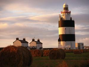 The Hook Head Lighthouse in County Wexford Was Built in the 13th Century Ireland by Doug McKinlay