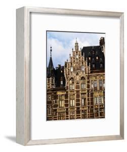 The Wonderful Guildhouses on Grote Markt, Antwerp, Belgium by Doug McKinlay