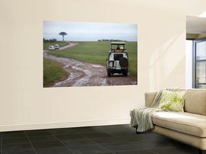 Tourists in Safari Vehicles by Doug McKinlay